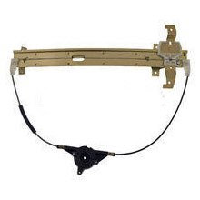 LH REAR (DRIVER SIDE) POWER WINDOW REGULATOR WITHOUT MOTOR FOR 1994 LINCOLN TOWN CAR - 3553-1993L