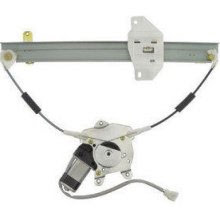 LH REAR (DRIVER SIDE) POWER WINDOW REGULATOR ASSEMBLY FOR 1997-2002 MITSUBISHI MIRAGE - 9552-6236L