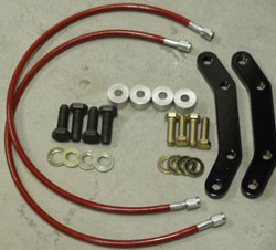 Toyota Supra (non-turbo) 93-98 (BRACKET KIT) 323mm 4 piston FRONT