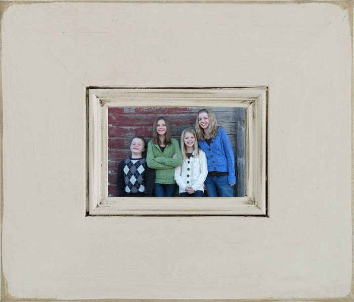 9 X 12 Bristol Antique Wood Picture Frame 17 X 20 Outside