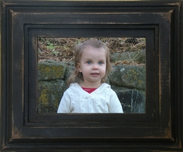 """5 X 7 Elegant Country Wood Frame (9"""" X 12"""" Outside Dimensions)"""