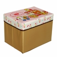 [Rilakkuma - The Anniversary] Rectangle Foldable Storage Ottoman / Storage Boxes / Storage Seat