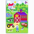 Country Farm Unframed Art Print