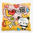 [Love Panda] Chair Seat Cushion / Chair Pad (15.8 by 15.8 inches)