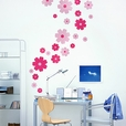 Petal Wheel-1 - Wall Decals Stickers Appliques Home Decor