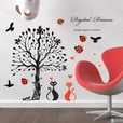 Love Under The Tree - Large Wall Decals Stickers Appliques Home Decor