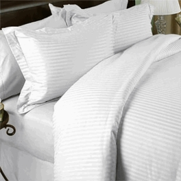 Twin/Twin X-Long Duvet Cover Set 300 Stripe 100% Egyptian Cotton