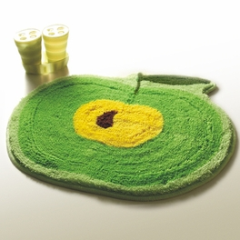 [Green Apple] Kids Room Rugs (20.9 by 22 inches)