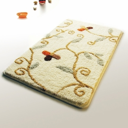 [Beige Vine] Luxury Home Rugs (19.7 by 31.5 inches)