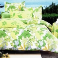 [Field of Spring] 100% Cotton 4PC Comforter Set (Twin Size)