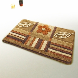 [Garden] Wool Throw Rugs (17.7 by 25.6 inches)