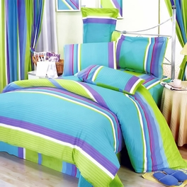 [Rhythm of Life] 100% Cotton 7PC MEGA Duvet Cover Set (Full Size)
