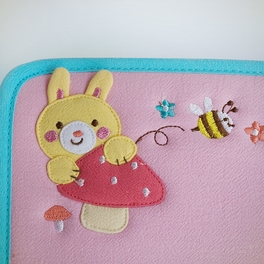 [Look For Me] Embroidered Applique Fabric Art Mouse Pad / Mouse Mat / Mousing Surface (10.3*8.8)