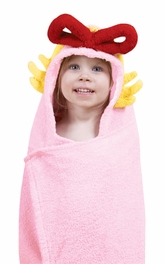 DR.CHARACTER HOODED TOWEL -CINDY LOU WHO