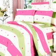 [Colorful Life] 100% Cotton 4PC Sheet Set (Full Size)