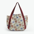 [Soulmate] 100% Cotton Eco Canvas Shoulder Tote Bag / Shopper Bag / Multiple Pockets
