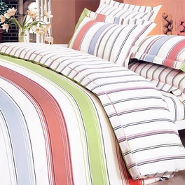 [Young Dream] 100% Cotton 4PC Duvet Cover Set (King Size)