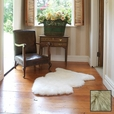 Premium Single Longwool Rug - Linen