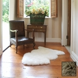 Premium Single Longwool Rug - Taupe