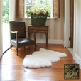 Premium Single Longwool Rug - Fudge
