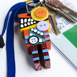 [Rational Robot-D] - Cell Phone Charm Strap / Camera Charm Strap / Handbags Charms