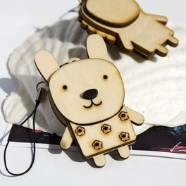 [Wooden Animals-2] - Cell Phone Charm Strap / Camera Charm Strap / Handbags Charms