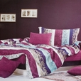 [Love in the Rhine] 100% Cotton 4PC Comforter Cover/Duvet Cover Combo (Queen Size)