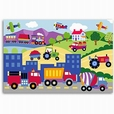 Trains, Planes and Trucks Unframed Art Print