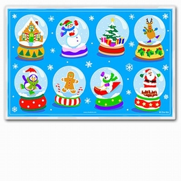 Snow Globe Placemat