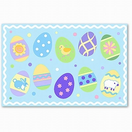 Easter Eggs (boys) Placemat