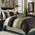 Sage Hudson Luxury 8-Piece comforter Set(Calking Size)