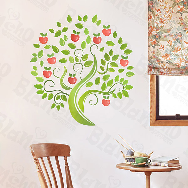 Apple Home Decor: X-Large Wall Decals Stickers Appliques Home Decor