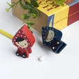 [Lovely Doll] - Card Holder / Wooden Clips / Wooden Clamps / Animal Clips