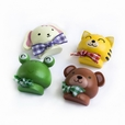 [Smile Animals-1] - Brooch / Brooch Pin / Animal Pin Brooch