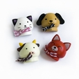 [Smile Animals-2] - Brooch / Brooch Pin / Animal Pin Brooch