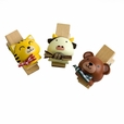 [Naughty Animals-1] - Wooden Clips / Wooden Clamps / Mini Clips