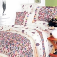 [Solace] 100% Cotton 5PC Comforter Set (Queen Size)