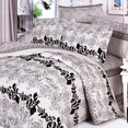 [Pale Purple Classic] 100% Cotton 4PC Duvet Cover Set (King Size)