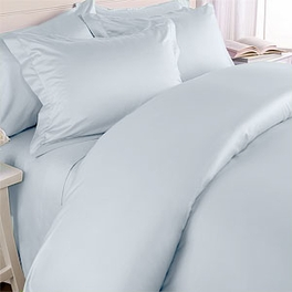 3-PC Twin Size Solid Down Alternative Comforter Set 450 Thread count