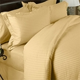 King CalKing Duvet Cover Set Sateen Stripe 600 Thread count Egyptian cotton Set