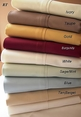 T300 Twin size Solid 100% Egyptian cotton Sheet set