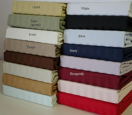 600 Thread count Cal-Queen Waterbed sheets (unattached)