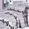 [Pale Purple Classic] 100% Cotton 4PC Duvet Cover Set (Queen Size)