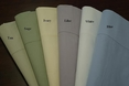 King Pillow cases Pair Egyptian cotton Percale