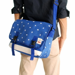 [Business Casual - Blue] Multi-Purposes Messenger Bag / Shoulder Bag