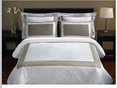 King/Calking Taupe 5-PC Hotel Duvet cover sets
