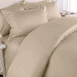 King CalKing Solid Duvet Sets 300 Thread count
