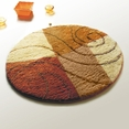 [Brown Swing] Round Rugs (35.4 by 35.4 inches)