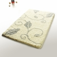 [Antique Silver] Luxury Home Rugs (19.7 by 31.5 inches)