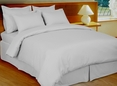 Stripe White Down Alternative Bed in A Bag 100% Egyptian cotton, 600 Thread count(Calking Size)